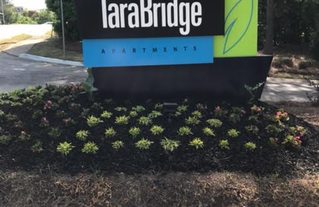 Tara Bridge Apartments Sign